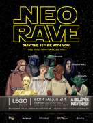 Neorave Star Wars flyer